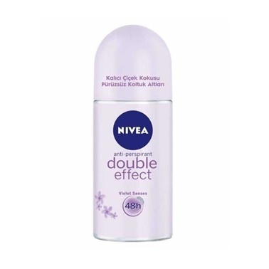 Nivea Double Effect Deodorant Roll-on 50ml Renksiz